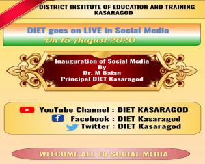 Inauguration of Social Media